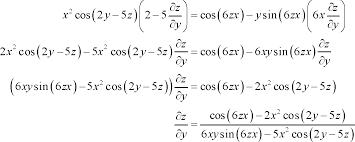 calculus iii partial derivatives