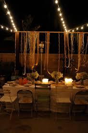 Pretty Backyard Ideas Houzz Holiday Contest A Pretty Backyard Dinner Party Eclectic