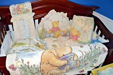 classic winnie the pooh crib bedding set ebay