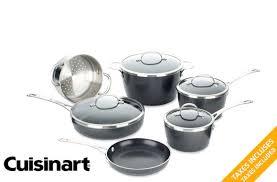 cuisine en batterie de cuisine tuango 159 pour une batterie de cuisine 10 pièces cuisinart