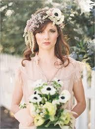 flower headpiece wedding inspiration floral headpieces calluna events