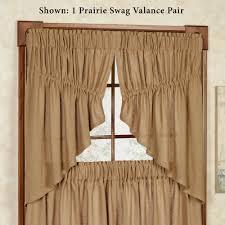 Burlap Grommet Curtains Burlap Soft Cotton Window Treatment