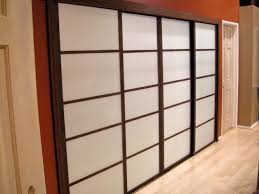 glass mirror wardrobe doors update old closet doors to look like shoji screens hgtv