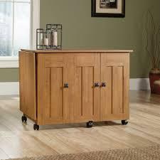 drop leaf craft table sauder select sewing craft cart 414110 sauder