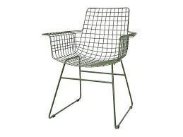 White Wire Chair Hk Living Metal Wire Chair Green Living And Co