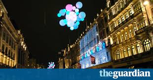 in pictures seventy years of west end christmas lights culture