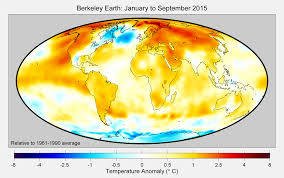 World Temperature Map by Berkeley Earth