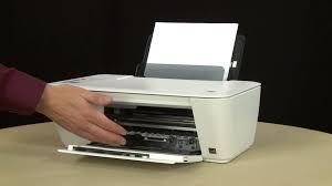 hide printer fixing a paper jam hp deskjet 2540 all in one printer youtube