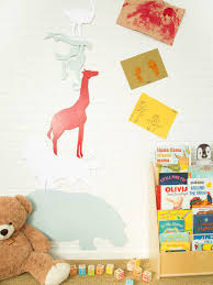 Bed Room Designs Make An Animal Silhouette Growth Chart Hgtv