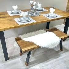 table de cuisine moderne modele de table de cuisine en bois ensemble de tables et de