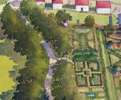 estate map map of the estate gardens george washington s mount vernon