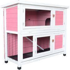 extra large rabbit hutch wire cage pet animal bunny enclosure