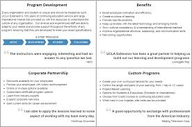 custom programs u0026 corporate education ucla extension provides