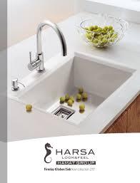 calaméo en harsa kitchen sinks