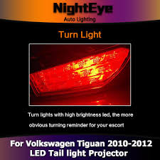 tiguan volkswagen lights nighteye vw tiguan tail lights 2010 2012 tiguan led tail light