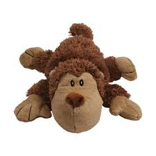 kong cozie zy25 squeaker spunky the monkey dog toy brown medium ebay