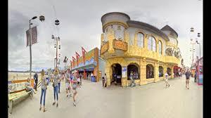 virtual reality capture 360 vr haunted castle santa cruz beach