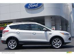 Ford Escape Ecoboost - white platinum metallic tri coat 2013 ford escape titanium 2 0l