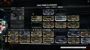 Icy Avalanche Help Me With My Frost Build Warframe Message Board For