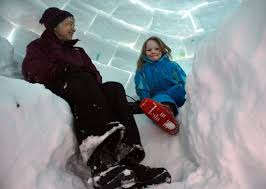 How To Build An Igloo In Your Backyard - live large this winter the spokesman review