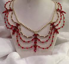 free vintage necklace tutorial by gina u0027s gem creations videos