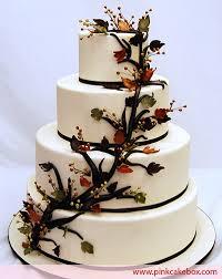 fall wedding cakes rustic autumn wedding cake fall wedding cakes