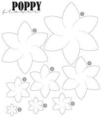 the 25 best flower template ideas on pinterest free paper