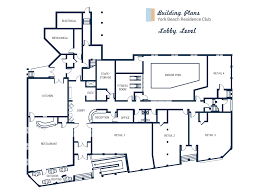Home Plans With Indoor Pool by York Beach Residence Club Building Plans