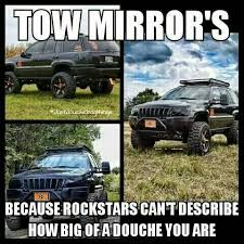 Dodge Tow Mirrors Meme - gm tow mirrors on a wk jeepforum com