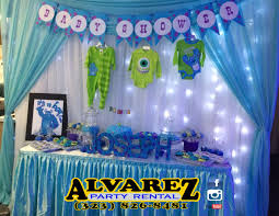 monsters inc baby shower decorations 100 baby shower inc to be monsters inc baby