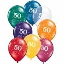 50th birthday balloons 50th birthday balloons 25 party zone usa