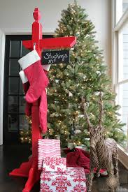 Home Depot Christmas Decor Diy Stocking Holder With The Home Depot Domestic Charm