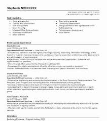 Conference Coordinator Resume Best Grants Administrative Assistant Resume Example Livecareer