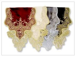 Gold Lace Table Runner Shopping In St Maarten At Linen Galore For Table Runners And