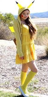 Pikachu Costume Diy Pikachu Costume Cosplayshot Cosplayshot