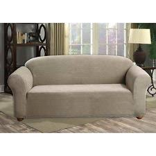 Stretch Sofa Slipcover by Duck River Textile Hayden Velvet Quick Fit Stretch Sofa Slipcover