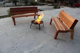custom made picnic table garden bench by scott u0027s custome