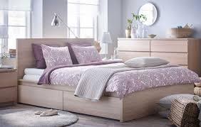 bedroom leirvik bed frame white sfdark