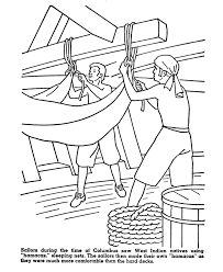 columbus coloring pages 4 coloring kids