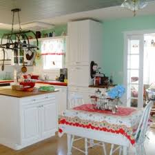Retro Kitchen Light Fixtures by Impressive Vintage Kitchen Decoration And Fixture Ideas