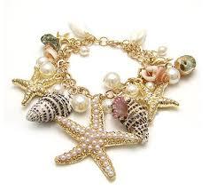 themed bracelets themed sea starfish sea shell charms bracelet free
