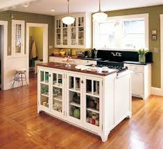 wood kitchen cabinets dark brown tiles small kitchen apartment