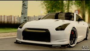nissan gtr side view nissan gt r v2 0 for gta san andreas