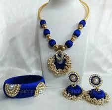 beautiful necklace online images Buy beautiful silk thread necklace online jpg