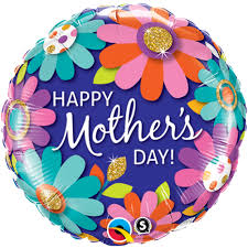 floral foil mothers day fashion floral foil balloon free delivery