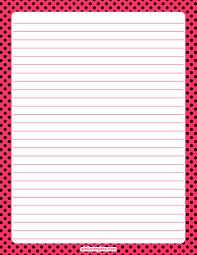 polka dot stationery printable pink and black polka dot stationery and writing paper