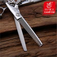 hair dressing personalities high quality 6 0 inch thinning hairdressing scissors personality