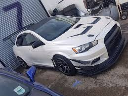 widebody evo mitsubishi evo x varis widebody not gtr nissan toyota mazda