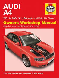 free online car repair manuals download 2004 audi a4 electronic throttle control audi a4 petrol diesel 01 04 haynes repair manual haynes