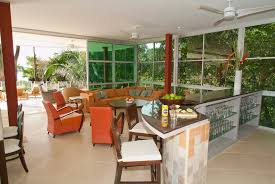The Living Room Salon Manuel Antonio Villa Rental Casa Fantastica Family Vacation Home